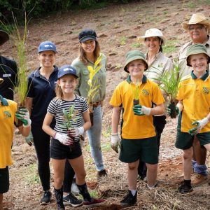 850 Trees Planted in Big Scrub