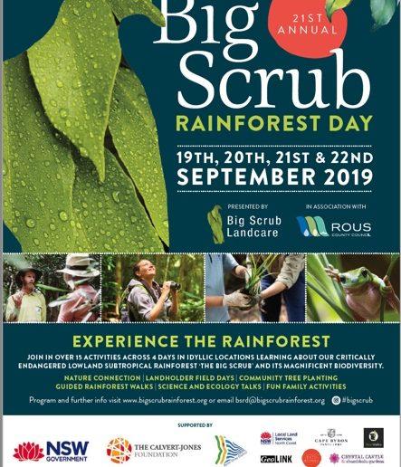 Big Scrub Rainforest Day 2019 Program Announced