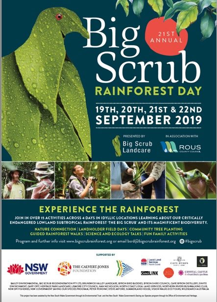 Big Scrub Rainforest Day 2019 Program Announced