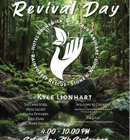 Rainforest Revival Day at Hotel Brunswick