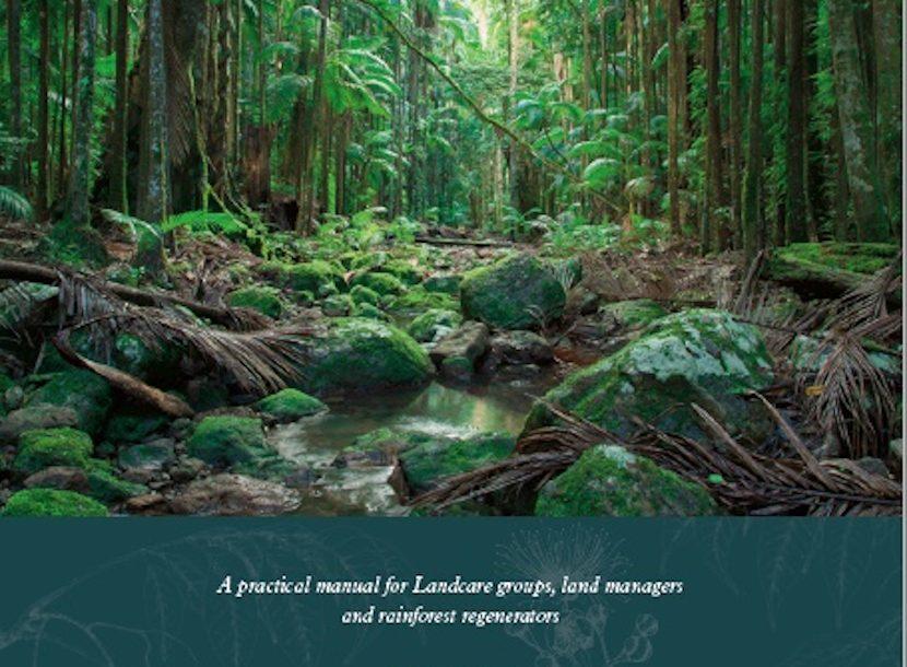Replenished stock of Rainforest Restoration Manual