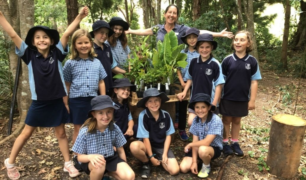 Bexhill Public School adds its own piece of the Big Scrub to outdoor learning program